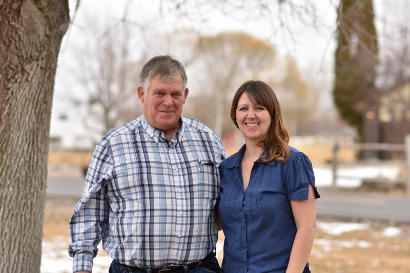 Photo of Tim Wetherbee and Kendra Meador, who are photographers and owners of Snake River Valley Photography in Pocatello, Idaho.